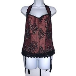 Frederick's of Hollywood Dream Halter Corset 42